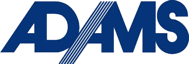 Adams valves logo